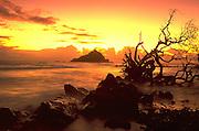 Sunrise, Hana Coast, Maui, Hawaii, USA<br />
