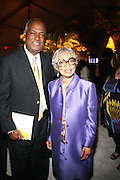 14 June 2010- Harlem, New York- l to r: Sr. VP Multicultural Relations, Moet Hennessey, Noel Hankin and Ruby Dee at The Apollo Theater's 2010 Spring Benefit and Awards Ceremony hosted by Jamie Foxx inducting Aretha Frankilin and Michael Jackson, and honoring Jennifer Lopez and Marc Anthony co- sponsored by Moet et Chandon which was held at the Apollo Theater on June 14, 2010 in Harlem, NYC. Photo Credit: Terrence Jennngs/Sipa