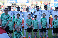 England team during the UEFA European Under 17 Championship 2018 match between England and Israel at Proact Stadium, Whittington Moor, United Kingdom on 4 May 2018. Picture by Mick Haynes.