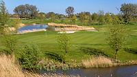WINKEL (Hollands Kroon)   -  Hole 18. Golfbaan Regthuys. Golf & Country Club Regthuys is een Nederlandse golfclub in Winkel. De golfbaan, die ontworpen is door Alan Rijks en Aart Bergsma, werd geopend in 2006.    COPYRIGHT KOEN SUYK