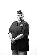 Angie Colella<br /> Air Force<br /> E-3<br /> Security Policeman<br /> 1989 - 1992<br /> <br /> Veterans Portrait Project<br /> Chicago, IL