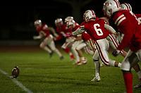 St Paul's School varsity football.  ©2019 Karen Bobotas Photographer
