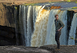 Embargoed to 0001 Wednesday December 28 File photo dated 03/12/16 of Prince Harry looking out from a viewing point during a visit to the Kaieteur Falls in the Hinterland, Guyana, during his 15 day tour of the Caribbean.