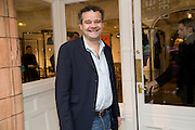 MARK HIX, The Launch of the Lanvin store on Mount St. Presentation and cocktails.  London. 26 March 2009