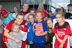 - Mandatory by-line: Paul Knight/JMP - 24/09/2016 - FOOTBALL - Stoke Gifford Stadium - Bristol, England - Bristol City Women v Durham Ladies - FA Women's Super League 2