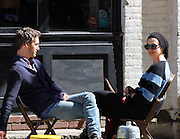 Sept. 14, 2014 - New York City, NY, United States - <br /> <br /> Anne Hathaway and Adam Shulman walk dogs in New York<br /> <br /> Actress Anne Hathaway and her husband Adam Shulman walk their dogs in Brooklyn on September 14 2014 in New York City<br /> ©Exclusivepix