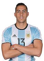 Football Conmebol_Concacaf - <br />Copa America Centenario Usa 2016 - <br />Argentina National Team - Group D -<br />Ramiro Funes Mori
