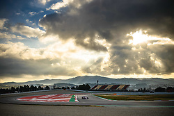 February 19, 2019 - Barcelona, Catalonia, Spain - LANCE STROLL (CAN) from team Racing Point drives in his in his RP19 during day two of the Formula One winter testing at Circuit de Catalunya (Credit Image: © Matthias OesterleZUMA Wire)