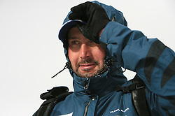 Tomas Kos, coach of Slovenian Women Biathlon Team at Dachstein glacier before new season 2008/2009, Austria, on October 30, 2008.  (Photo by Vid Ponikvar / Sportida)