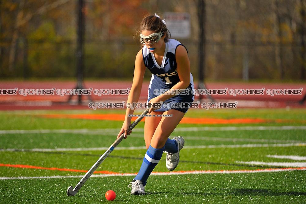 Staples High School Field Hockey..Staples ties Ridgefield 0-0..Caroline Kearney(SR)(C)
