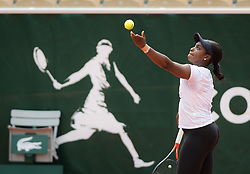 May 21, 2019 - Paris, FRANCE - Sven Groeneveld during practice with Sloane Stephens at the 2019 Roland Garros Grand Slam tennis tournament (Credit Image: © AFP7 via ZUMA Wire)