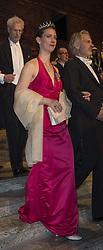 Bettina Bernadotte, Lasse Nilsson <br /> <br />  <br /> <br />  beim Nobelbankett 2016 im Rathaus in Stockholm / 101216 <br /> <br /> <br /> <br /> ***The Nobel banquet, Stockholm City Hall, December 10th, 2016***