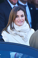 032218 Spanish Royals attends an institutional act of the capitulations of Valladolid