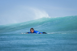 October 12, 2017 - Joan Duru (FRA) Placed 1st in Heat 7 of Round One at Quiksilver Pro France 2017, Hossegor, France..Quiksilver Pro France 2017, Landes, France - 12 Oct 2017 (Credit Image: © WSL via ZUMA Press)