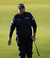 Golf - 2021 Alfred Dunhill Links Championship - Day Four - The Old Course at St Andrew's - Day Four -  Sunday 3rd October 2021<br /> <br /> Shane Lowry on the 18th<br /> <br /> Credit: COLORSPORT/Bruce White