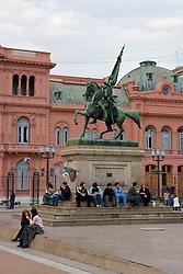 Casa de Gobierno (Government House), Presidential Palace, Casa Rosada, The Pink Palace