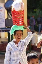 Woman Vendor, Shwezigon Pagoda