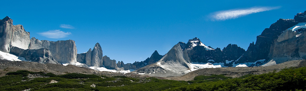 Chile, Patagonia, Torres del Paine National Park.