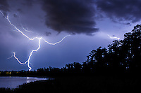 Storm over Dixie Lake