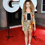 Ella Eyre Arrivers at GQ 30th Anniversary celebration at Sushisamba, The Market, Convent Garden on 29 October 2018.