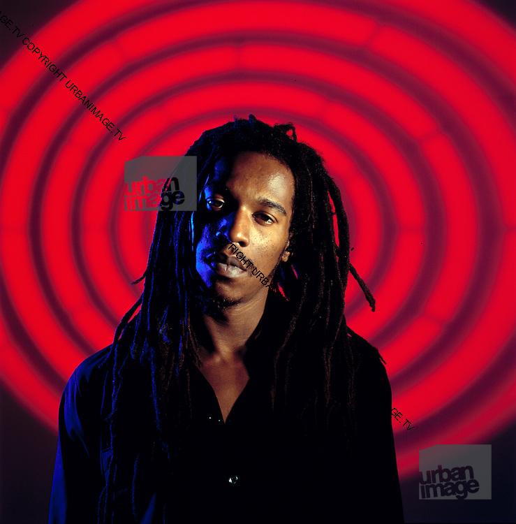 Benjamin Zephaniah Dub Poet studio Photosession