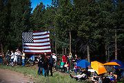 June 30, 2013 - Pikes Peak, Colorado.   Atmosphere before the 91st running of the Pikes Peak Hill Climb.