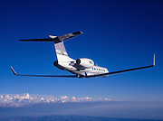 Gulfstream G-V business jet
