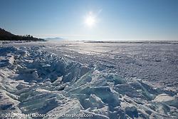 Lake Baikal in Buryatia, Siberia, Russia. Monday, February 24, 2020. Photography ©2020 Michael Lichter.