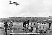 The Iolar, the first plane flown by Aer Lingus lands at Kerry Airport during a demonstration in 1987.<br /> Photo Don MacMonagle