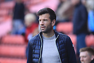 Brian Barry-Murphy during the EFL Sky Bet League 1 match between Charlton Athletic and Rochdale at The Valley, London, England on 4 May 2019.