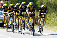 Team Direct Energie during the Tour de France 2018, Stage 3, Team Time Trial, Cholet-Cholet (35 km) on July 9th, 2018 - Photo Luca Bettini/ BettiniPhoto / ProSportsImages / DPPI