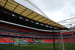 General views of Wembley stadium - Mandatory by-line: Nizaam Jones/JMP - 29/08/2020 - FOOTBALL - Wembley Stadium - London, England - Chelsea v Manchester City - FA Women's Community Shield