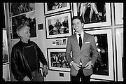 DUNCAN RABAN; TOM RABAN, London Art Fair, Business Design Centre, Upper St. Islington. 19 January 2015