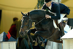 Geerink Peter (NED) - Cobra<br /> World Championship Young Horses - Lanaken 2002<br /> Final 5 years of age<br /> Photo © Dirk Caremans