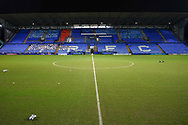 Prenton Park during the EFL Sky Bet League 2 match between Tranmere Rovers and Forest Green Rovers at Prenton Park, Birkenhead, England on 19 January 2021.
