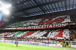 14-05-2011 VOETBAL: AC MILAN - CAGLIARI: MILAN<br /> I tifosi del Milan Stadion San Siro, Milan Campione<br /> ***NETHERLANDS ONLY***<br /> ©2011- FRH-EXPA/ InsideFoto/ Paolo Nucci