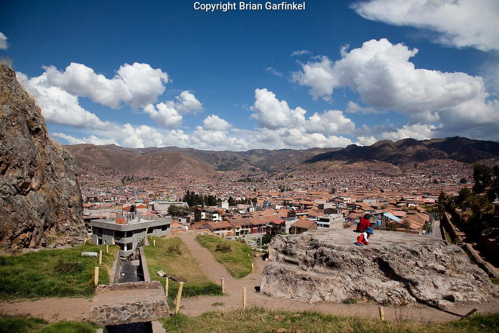 A view of Cusco Peru