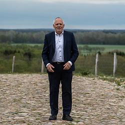 10-05-2021: Wielrennen: persmoment EK veldrijden: Wijster <br />Gedeputeerde provincie Drenthe Henk Brink