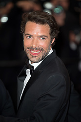 Nicolas Bedos arriving on the red carpet of 'La Belle Epoque' screening held at the Palais Des Festivals in Cannes, France on May 20, 2019 as part of the 72th Cannes Film Festival. Photo by Nicolas Genin/ABACAPRESS.COM