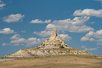 Before visiting the Terry Badlands, I had no idea that Montana had it's own Chimney Rock. It looks remarkably similar to the one in Nebraska, but it's a little shorter. This one can be viewed from the rough road called the Calypso Trail.