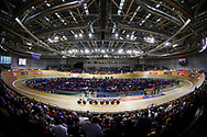 General view, Women Team Pursuit, Poland, during the Track Cycling European Championships Glasgow 2018, at Sir Chris Hoy Velodrome, in Glasgow, Great Britain, Day 1, on August 2, 2018 - Photo Luca Bettini / BettiniPhoto / ProSportsImages / DPPI - Belgium out, Spain out, Italy out, Netherlands out -