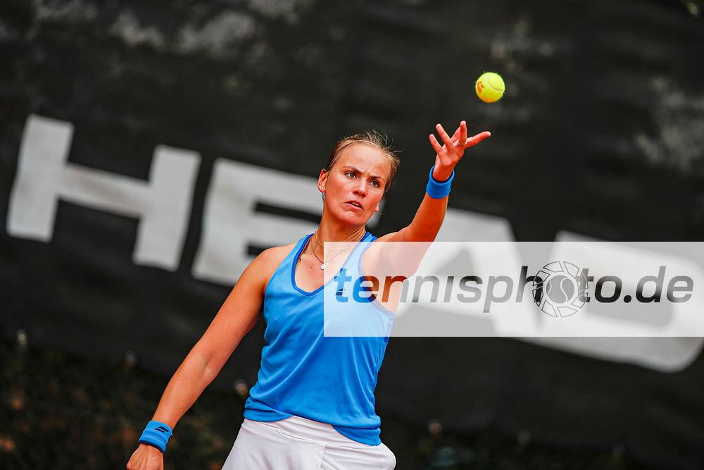 Stephanie Wagner (GER) - WTO Wiesbaden Tennis Open - ITF World Tennis Tour 80K, 20.9.2021, Wiesbaden (T2 Sport Health Club), Deutschland, Photo: Mathias Schulz