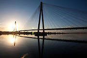 Carneirinho_MG, Brasil...Ponte de Porto Alencastro BR-497 sobre o Rio Paranaíba...The bridge Porto Alencastro BR-497 over Paranaiba river...Foto: LEO DRUMOND / NITRO
