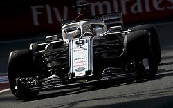 October 26, 2018 - Mexico-City, Mexico - Motorsports: FIA Formula One World Championship 2018, Grand Prix of Mexico, .#9 Marcus Ericsson (SWE, Alfa Romeo Sauber F1 Team) (Credit Image: © Hoch Zwei via ZUMA Wire)