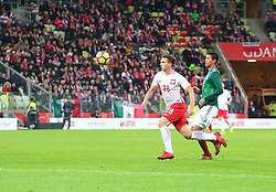 November 13, 2017 - Gdansk, Poland - Jakub Swierczok and Hugo Ayala during the international friendly soccer match between Poland and Mexico at the Energa Stadium in Gdansk, Poland on 13 November 2017  (Credit Image: © Mateusz Wlodarczyk/NurPhoto via ZUMA Press)