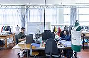 Leso, Novara province: the prototype clothing production.