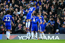 Chelsea celebrate Asmir Begovic of Chelsea goal, Chelsea 1-0 Bournemouth - Mandatory by-line: Jason Brown/JMP - 26/12/2016 - FOOTBALL - Stamford Bridge - London, England - Chelsea v Bournemouth - Premier League