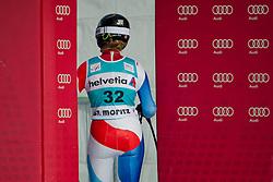 29.01.2012, Corviglia, St. Moritz, SUI, FIS Weltcup Ski Alpin, St. Moritz, Damen, Super-G, Superkombination, im Bild Lara Gut (SUI) verlaesst den Ziel-Auslauf // during Super-G, Supercombination of the FIS Ski Alpine Worldcup, Women at the Corviglia Course in St. Moritz, Switzerland on 2012/01/29. EXPA Pictures © 2012, PhotoCredit: EXPA/ Freshfocus/ Andy Mueller..***** ATTENTION - for AUT, CRO and SLO only *****