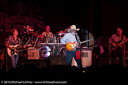 The Charlie Daniels Band performing at Jester's Live located at Bruce Rossmeyer's Destination Daytona during Daytona Bike Week 75th Anniversary event. FL, USA. Saturday March 12, 2016.  Photography ©2016 Michael Lichter.
