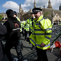 London May 18 New protest and scuffles in Parliament Square between Tamil proteststers and Police...***Standard Licence  Fee's Apply To All Image Use***.Marco Secchi /Xianpix. tel +44 (0) 845 050 6211. e-mail ms@msecchi.com or sales@xianpix.com.www.marcosecchi.com
